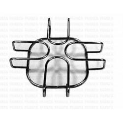 Fornello a gas 3 fuochi in ottone griglia acciaio cm 58,5x27,5x12,5 PARKER