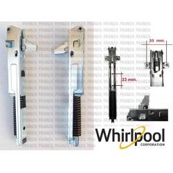 Kit Coppia Carboncini Spazzole motore lavatrice Bosch Siemens carboncino 5X12,5X36