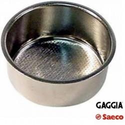 FILTRO PORTA CAFFE 2 TZ MACCHINA CAFFE SAECO GAGGIA 60mm POEMIA VIA VENETO