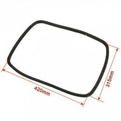 Guarnizione TRECCIA ADESIVA IN TEXTAPE per Stufe a Pellet e a Legna fissaggio vetri e porte 10x3mm
