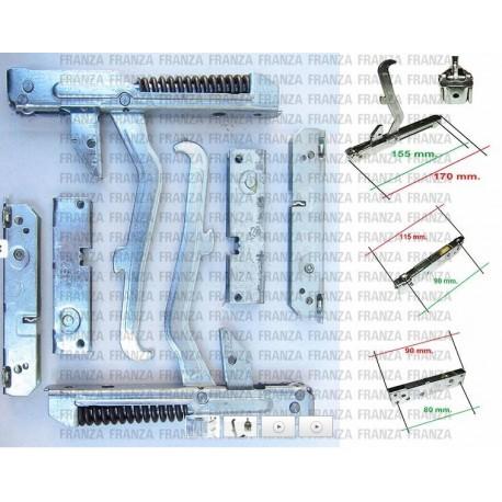 kit 2PZ CERNIERE PORTA FORNO CUCINA ELECTROLUX REX AEG 50223858007