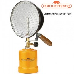 LAMPADA FARO DA PESCA A GAS 200 W CARTUCCIA DA 190G EUROCAMPING