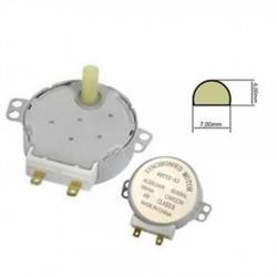Motorino motore piatto rotante forno microonde rotante alberino 17mm 4 watt