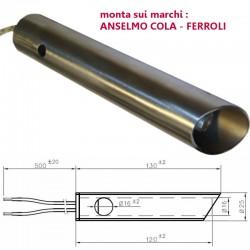 Resistenza Candeletta Stufa a Pellet 16mm 350W l.120mm Anselmo Cola Ferroli