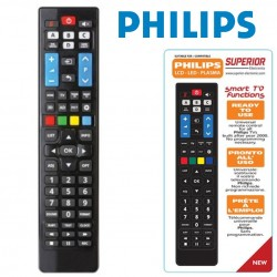 TELECOMANDO UNIVERSALE DEDICATO TV PHILIPS smart tv 57 TASTI SUPERIOR PRONTO