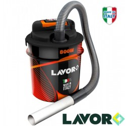 Bidone Aspiraceneri 800 watt 14lt LAVOR Stufe a Pellet e Caminetti