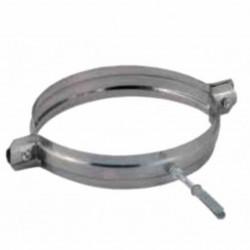 COLLARE PARETE FISSA TUBO - DIAMETRO 80MM - INOX AISI304 STUFA A PELLET