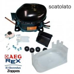 COMPRESSORE FRIGORIFERO ACC HMK12AA GAS R600 ELECTROLUX SCATOLATO COMPLETO
