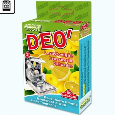 Deodorante lavastoviglie 50 lavaggi PROFUMO Limone 2 blisters da 8 ml