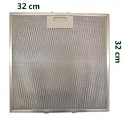 Filtro in alluminio metallico CAPPA Elica 32x32 ELICA Circo, Barriera corallina cristallo vetro piano IX iconica