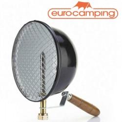 LAMPADA FARO DA PESCA A GAS 500 W MANICO IN LEGNO EUROCAMPING