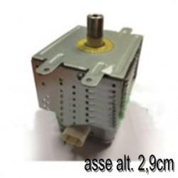 MAGNETRON TIPO GRANDE MAX 34lt M24FB 210A G015D30 - Asse alt.2,9cm attacco asse esagonale