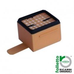 Micro filtro Igienico FOLLETTO VK 135 136 originale