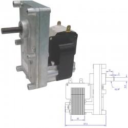 motore Motoriduttore stufe a pellet serie T3, 220VAC. FB1263 MCZ RED HYDRO