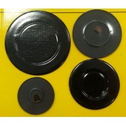 4 Piattelli Bruciatore Piani cottura ARISTON NARDI FRANKE INDESIT TECNOGAS INCAVATI