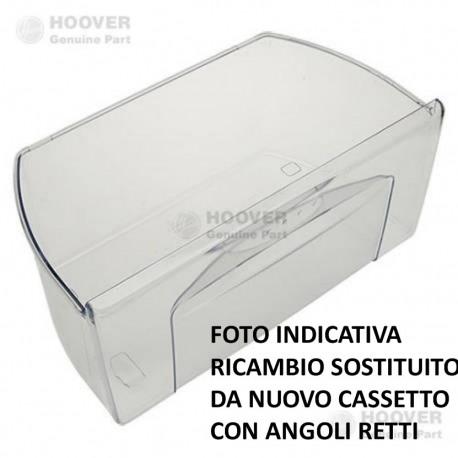 CASSETTO VERDURA FRIGORIFERO CANDY HOOVER ZEROWATT 45,5cm