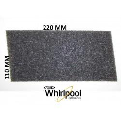 FILTRO ASCIUGATRICE WHIRLPOOL 220 X 110 X 7 mm 481010354757 compatibile