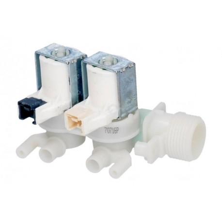 Elettrovalvola doppia Carico acqua Lavatrice Ariston Indesit 110333 AQGF109