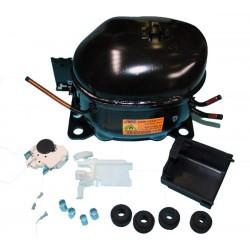 COMPRESSORE FRIGORIFERO ACC 1/6HP 130 WATT GAS R134A SCATOLATO