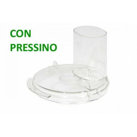 COPERCHIO CON PRESSINO ROBOT DA CUCINA BRAVO SIMAC Vecchia versione