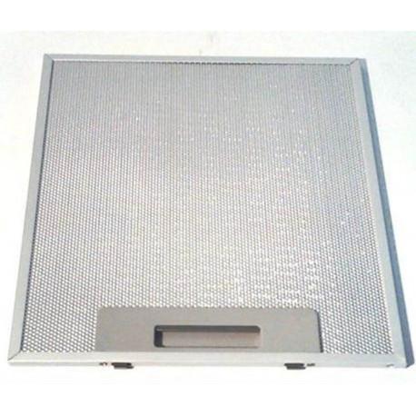 FILTRO CAPPA ALLUMINIO INOX 253X300 mm. 2 AGGANCI mod faber nova